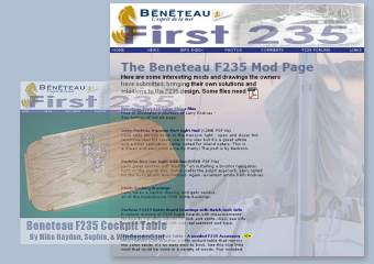 Beneteau First 235 Owner Mods